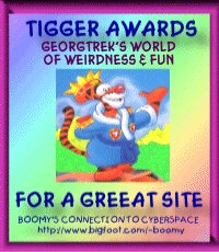 Tigger's Award For An Excellent Site